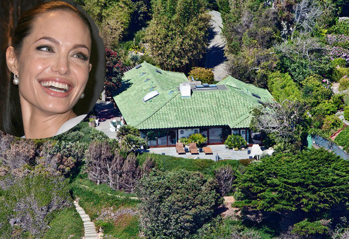 Angelina jolie divorcing brad pitt malibu rental 01