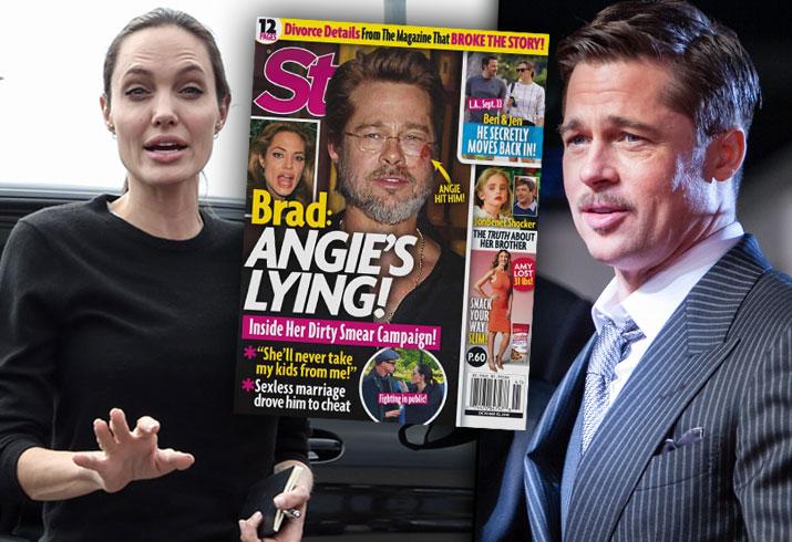 Brad Pitt Angelina Jolie Divorce Kids Fighting Abuse Claims 1