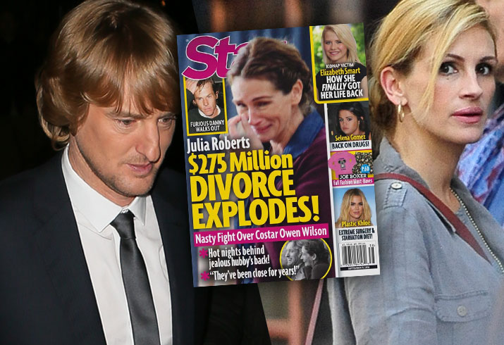 Julia Roberts Divorce Danny Moder Owen Wilson Cheating Rumors 1