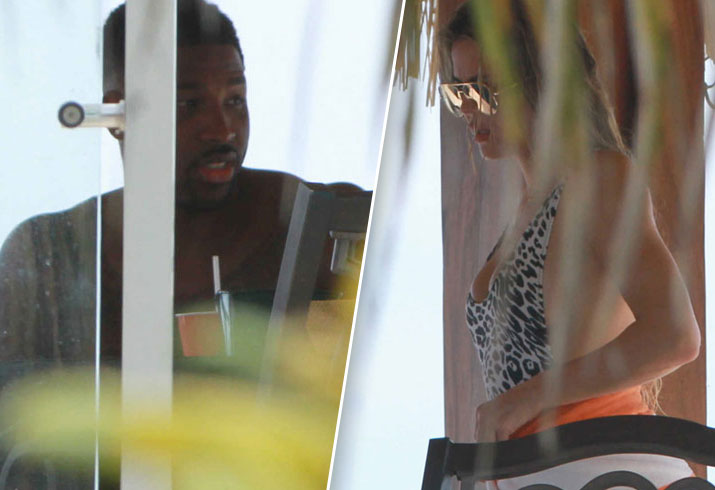 Khloe Kardashian New NBA Boyfriend Tristan Thompson Mexico Vacation Pics