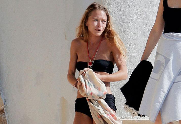 Mary kate olsen bikini photos scary skinny vacation france
