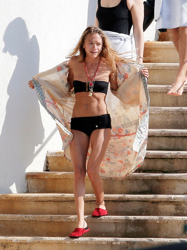 Ashley olsen bikini thanks