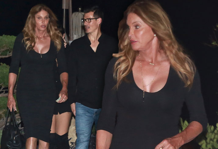 Caitlyn Jenner Plastic Surgery Boobs Cleavage Tight Dress Pics 5