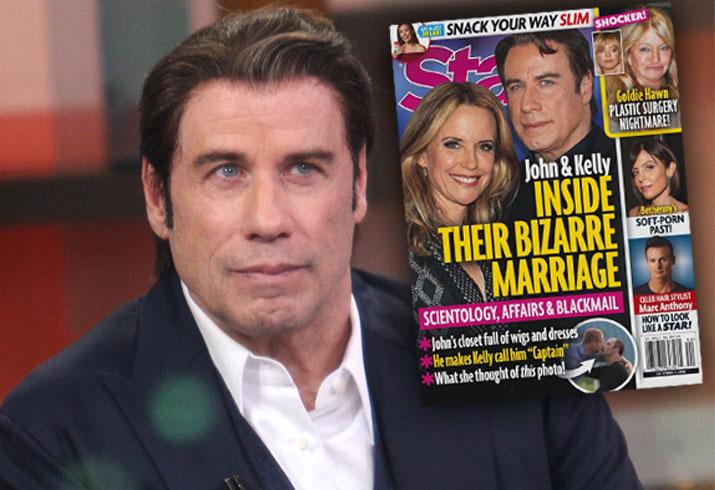 John Travolta Kelly Preston Married Scientology Affairs Blackmail 1