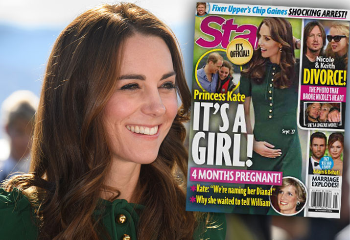 Kate Middleton Pregnant Baby 3 Bump Girl Pics 2