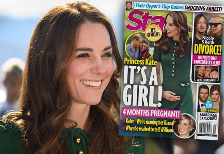Kate Middleton Pregnant Baby 3 Bump Girl Pics 2