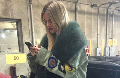Khloe kardashian wearing tristan thompson ring