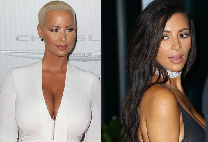 Kim kardashian amber rose birthday feud 01