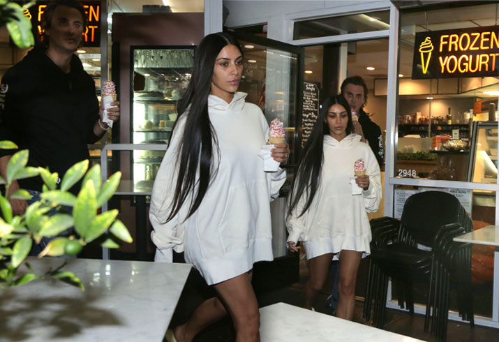 Kim Kardashian First Photos Paris Robbery Froyo Thinner Pics 7