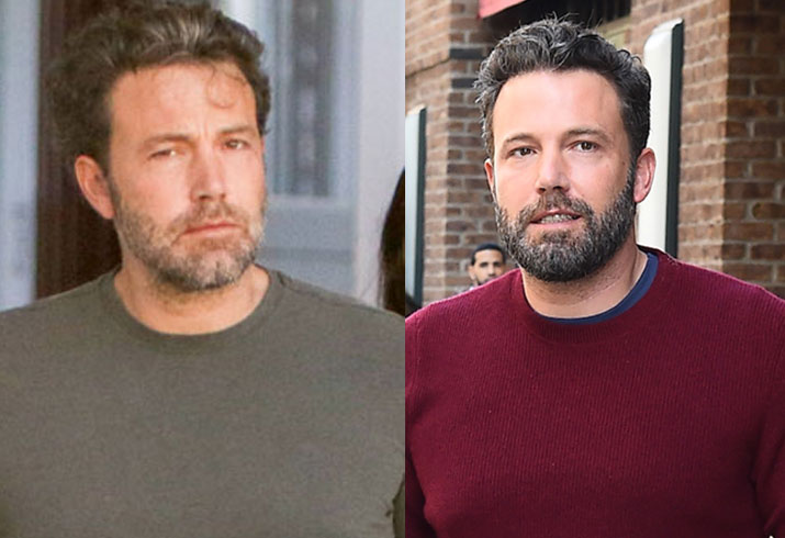 Miserable looking ben affleck manages smile 07