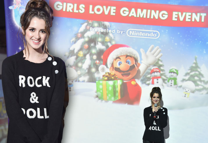 Disney channel star austin ally laura marano nintendo 3ds girls love gaming event pics 8
