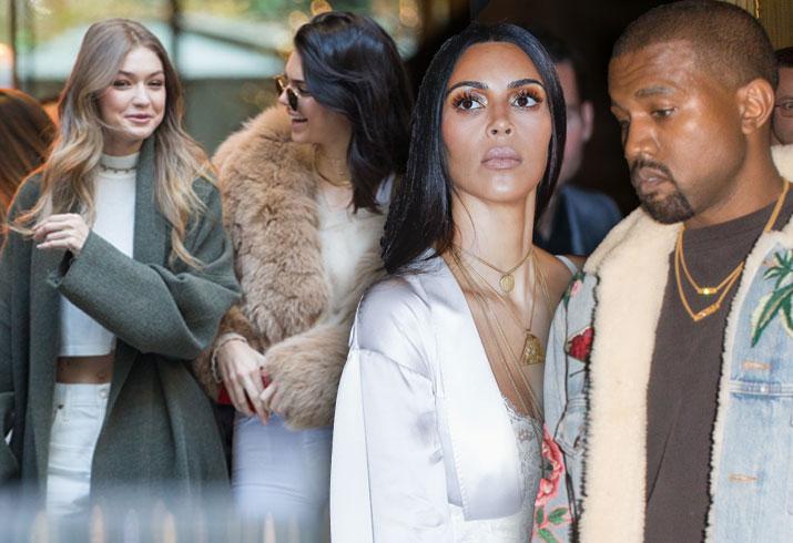 Kanye West Hospitalized Kim Kardashian Paris Robbery Kendall Jenner Diss Pics 1