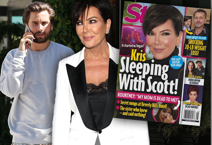 Kris Jenner Scott Disick Affair Scandal Kourtney Kardashian Hotel Secrets Pics 1