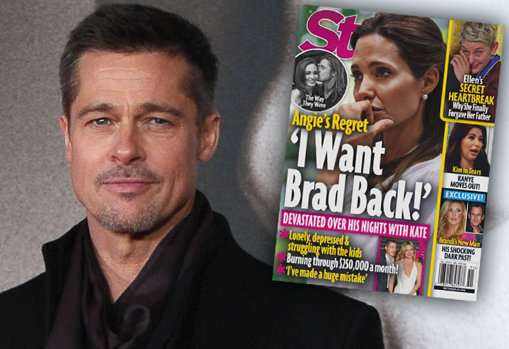 Brad Pitt Angelina Jolie Divorce Custody Battle Depressed 1