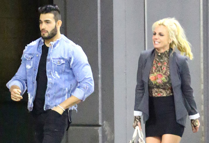 Britney spears dating sam asghari music video