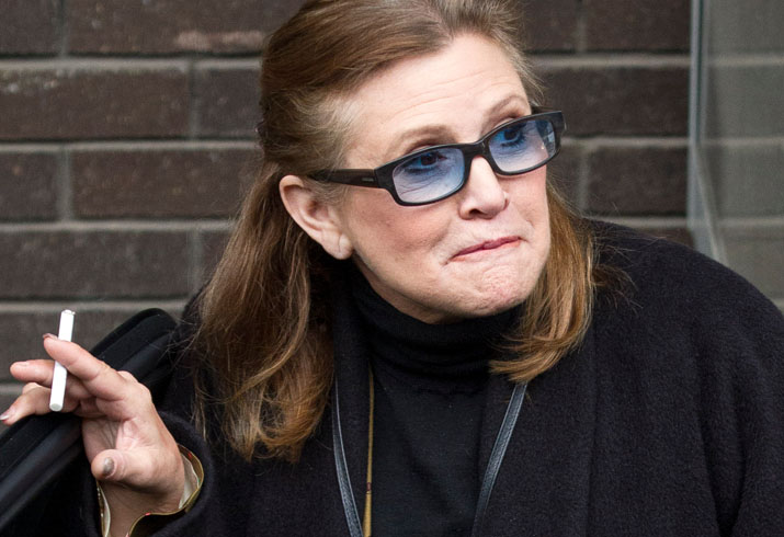 Most Heartbreaking Footage Of Carrie Fisher Exposed Star Magazine