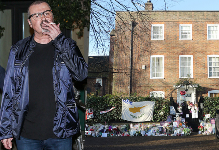 George Michael Dead London Home Inside Pics