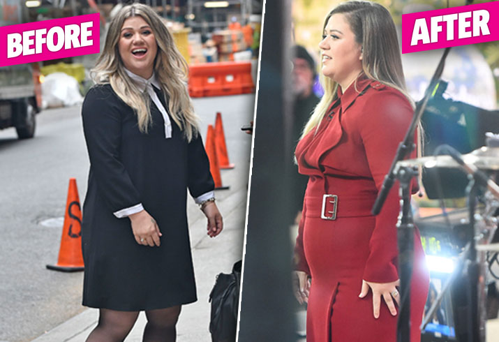 Kelly Clarkson Weight Gain Post Baby Body Pics 7