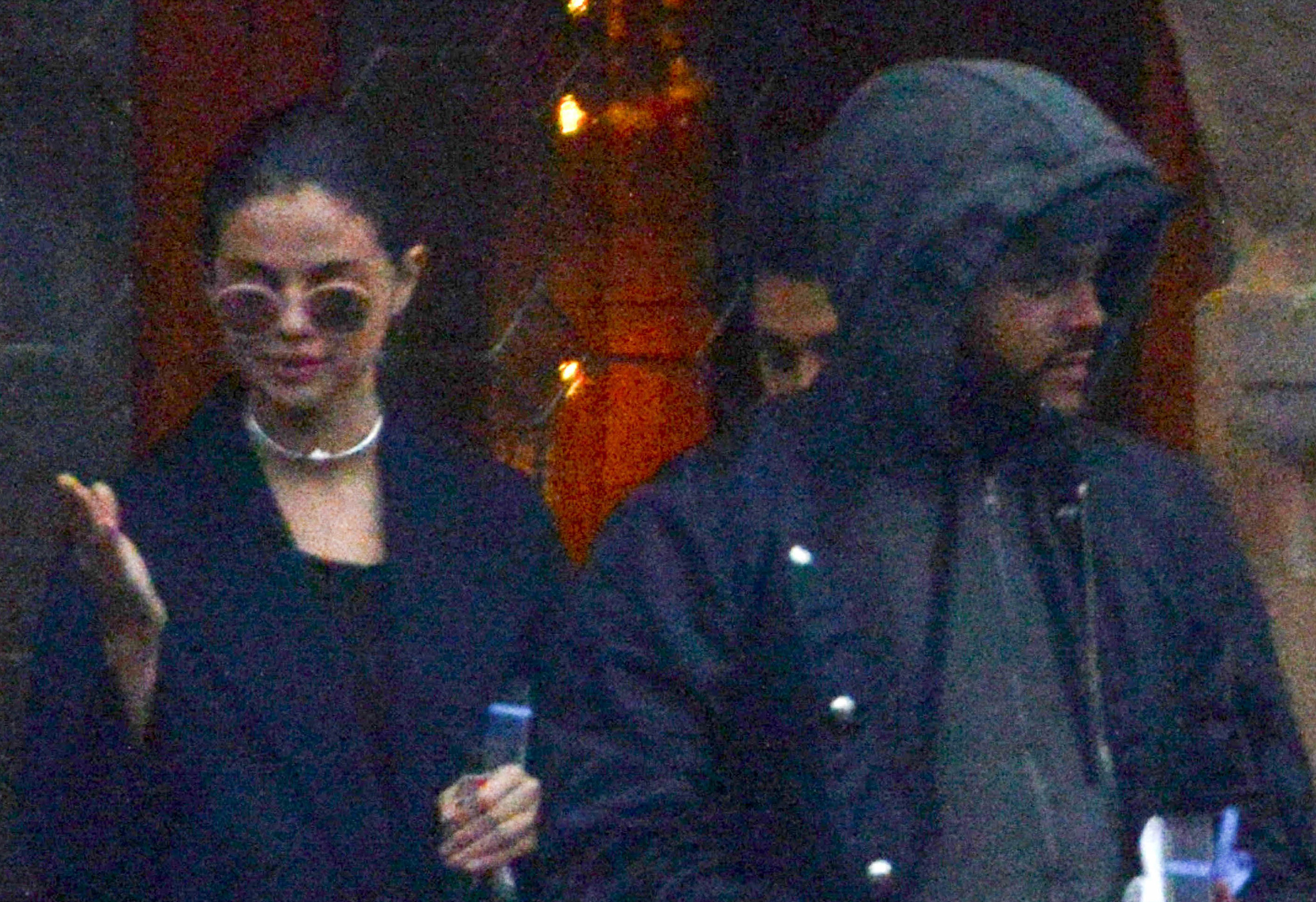*EXCLUSIVE* Lovebirds Selena Gomez and The Weeknd say 'Ciao' to Venice! **WEB MUST CALL FOR PRICING**