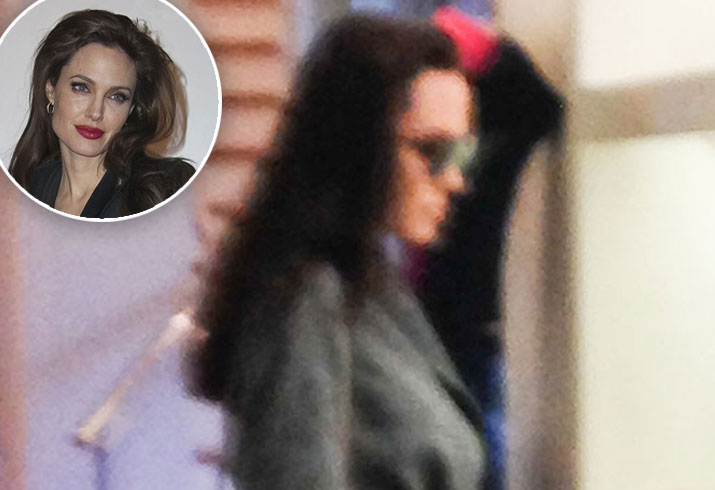 Angelina jolie custody battle brad pitt shopping with pax