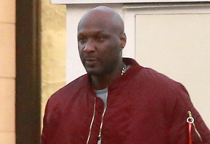 lamar odom again post rehab pp