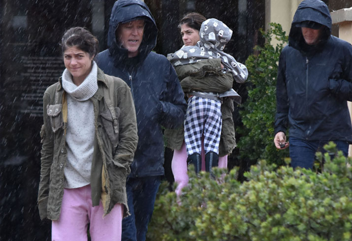 Selma Blair Boyfriend Ron Carlson Son Arthur Rain Pics