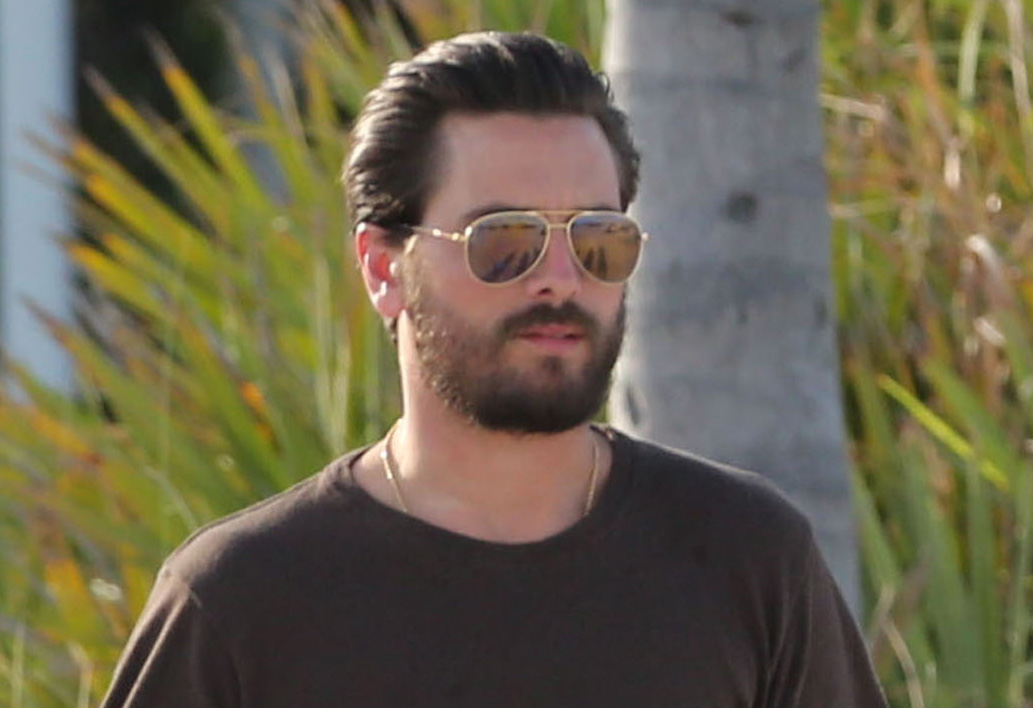Scott Disick Spends Another Day With His New Group Of Girls