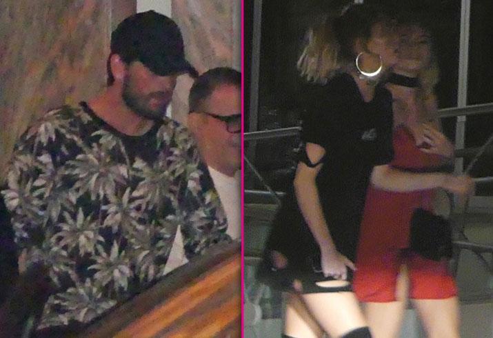 Scott Disick Kourtney Kardashian Rehab Split Together Cheating PP2