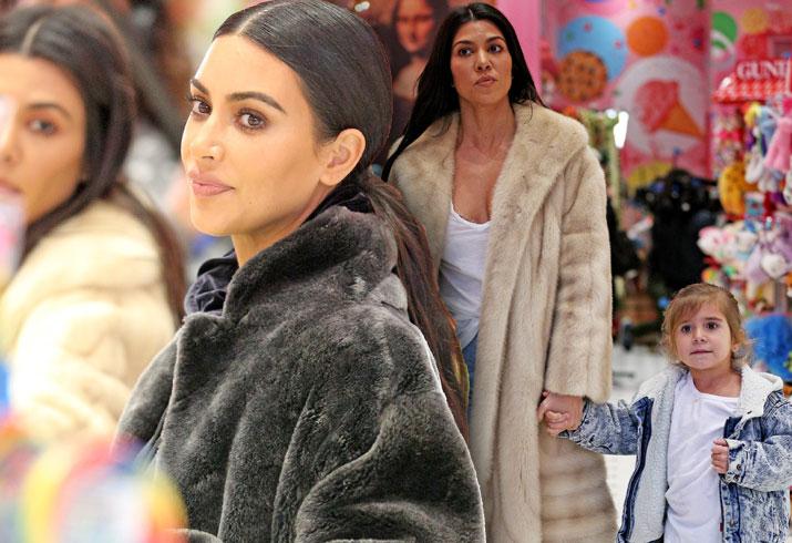 Kim Kardashian Kourtney Penelope Disick Candy Store KUWTK