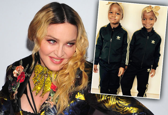 Madonna Kids Twins Adoption Making Money