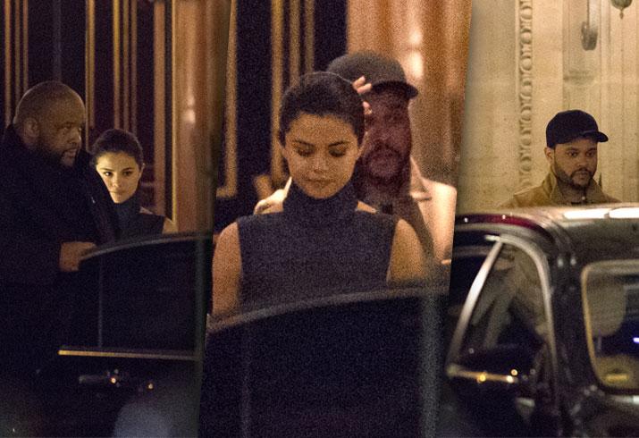 Selena Gomez Weeknd Paris Ex Bella Hadid