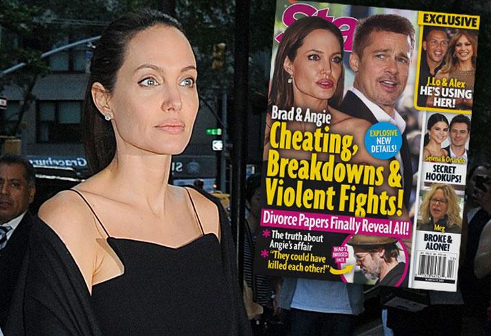 Brad Pitt Angelina Jolie Divorce Papers Fights