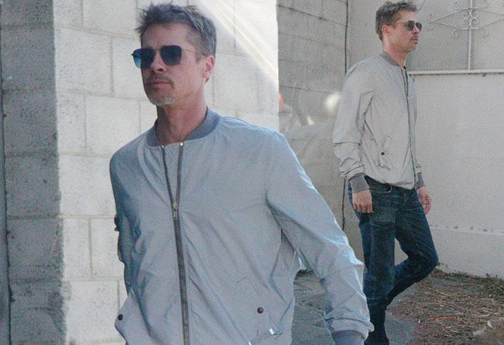 Brad Pitt Divorce Weight Loss Skinny Diet Pics