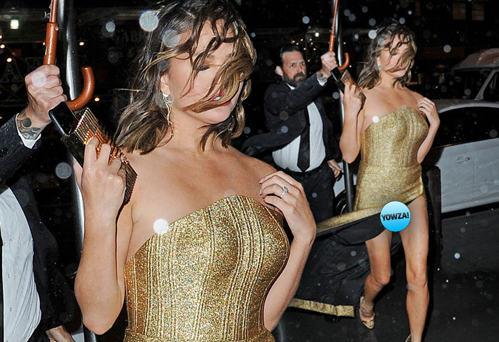 Chrissy Teigen Wardrobe Malfunction Time 100 Gala Pics