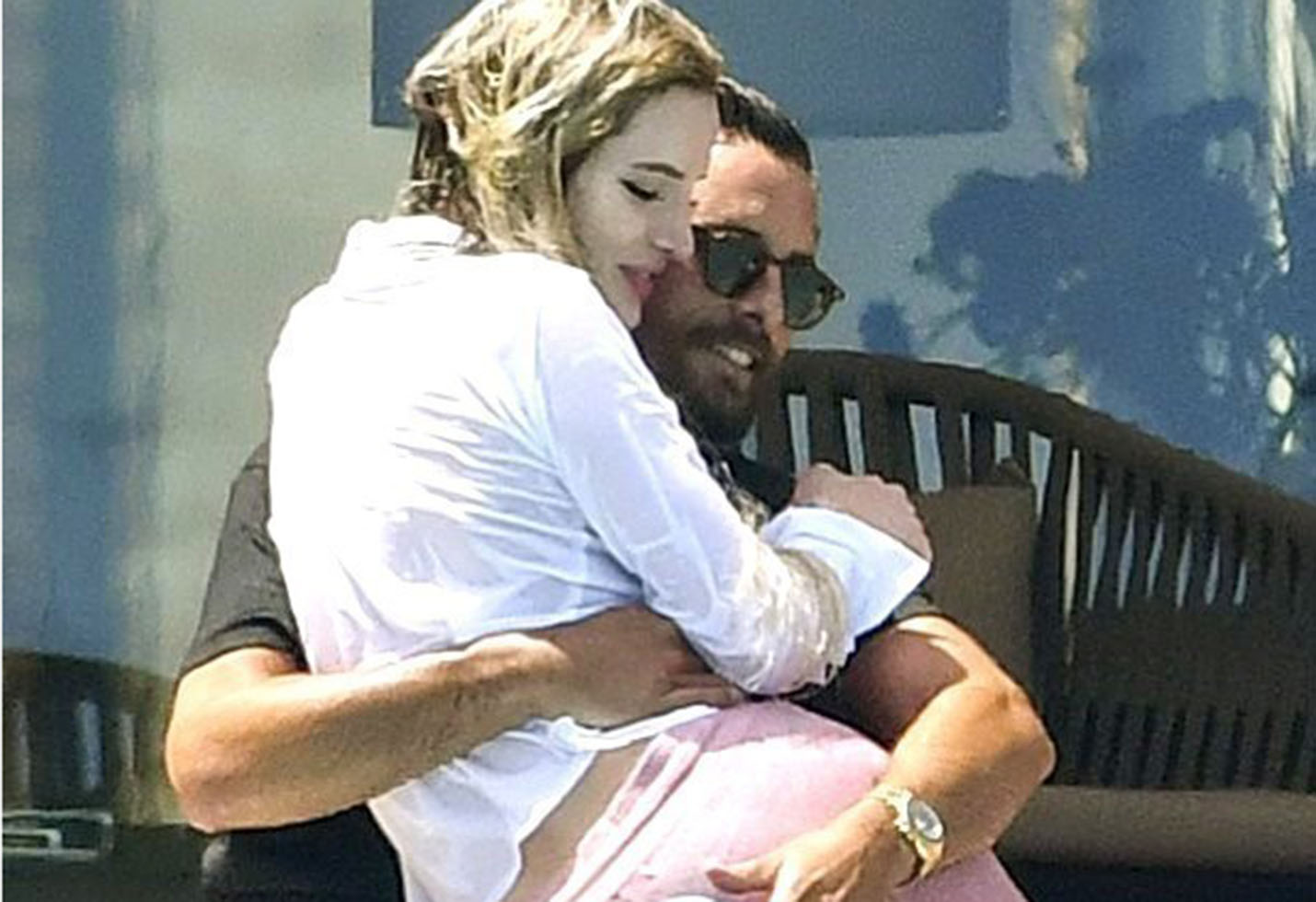 *PREMIUM EXCLUSIVE* Bella Thorne and Scott Disick get Wet and Wild in the French Riviera