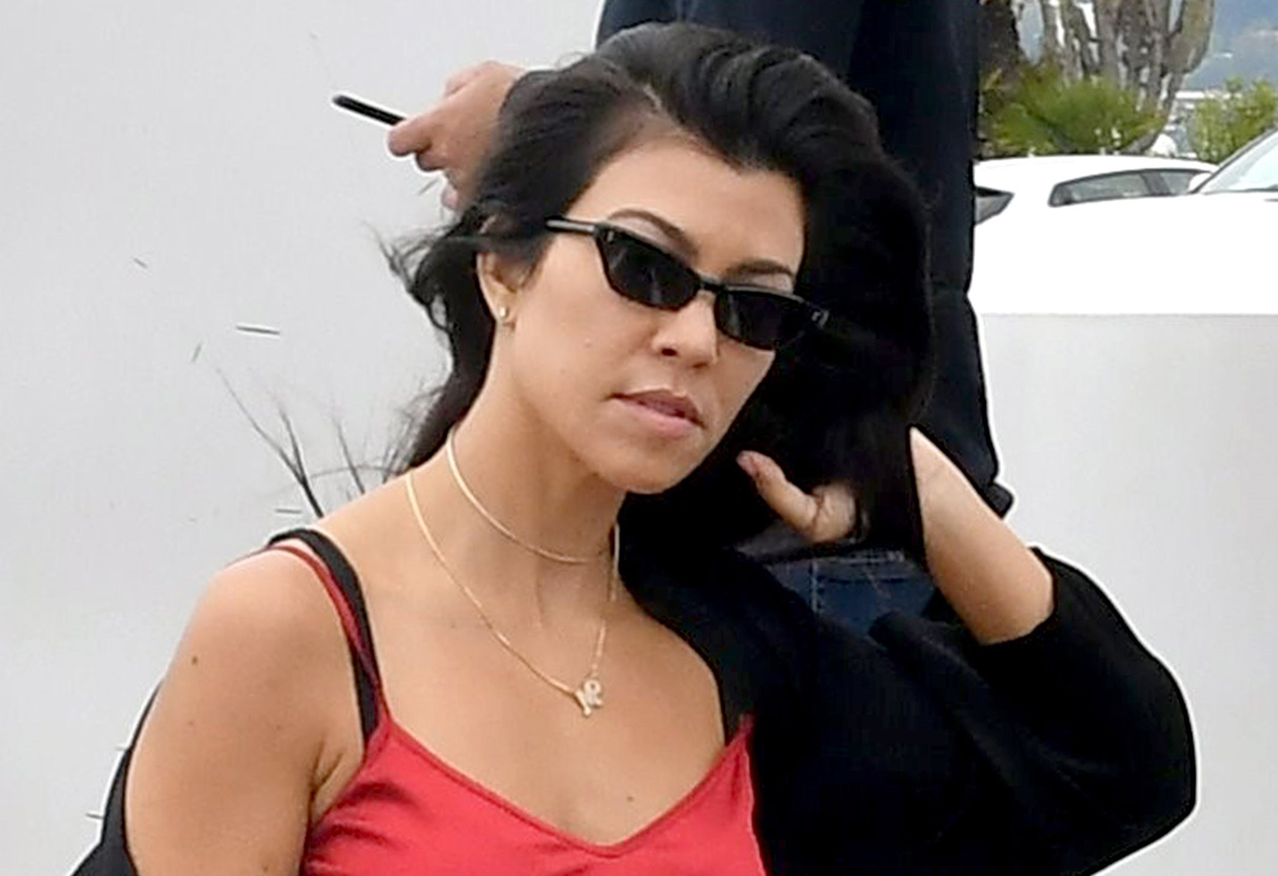Kendall Jenner and Kourtney Kardashian leave Eden Roc Hotel with Younes Bendjima and A$AP Rocky