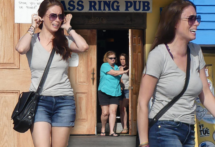 Casey Anthony Smiling Bar Florida Pics