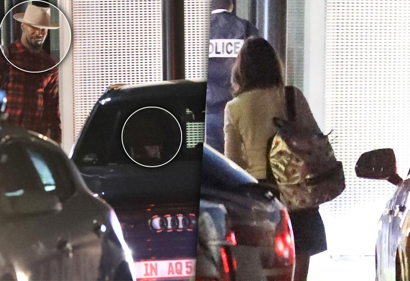 Jamie Foxx Katie Holmes Dating Paris Pics