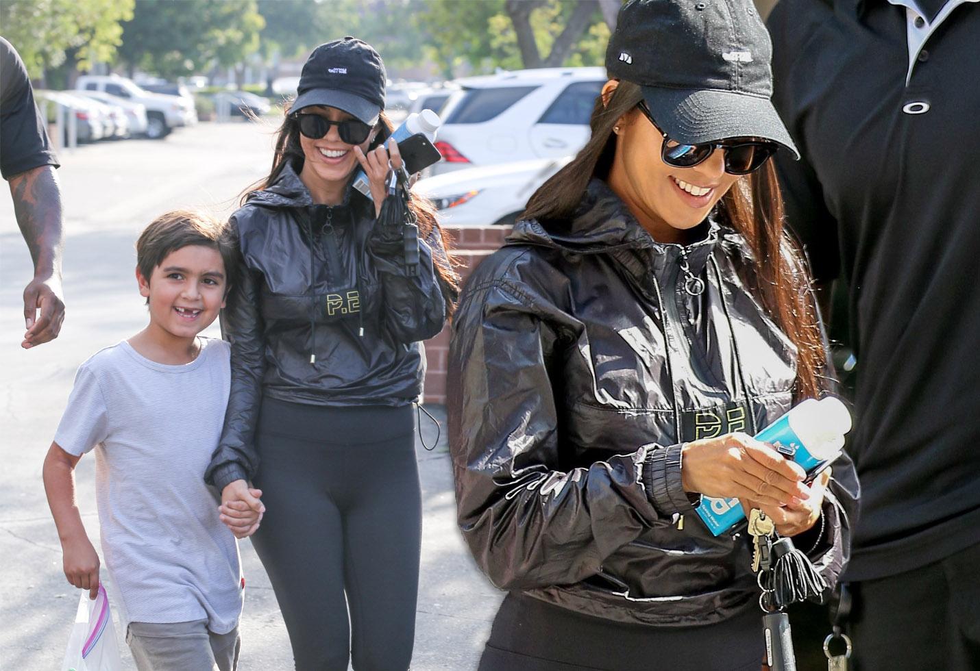 [VIDEO] Kourtney Kardashian Looks Happier After Banning ...
