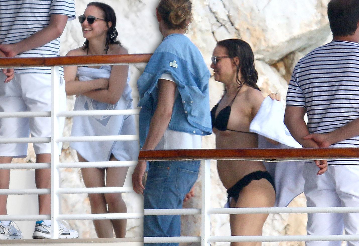 Natalie Portman Bikini Post Baby Body Pics