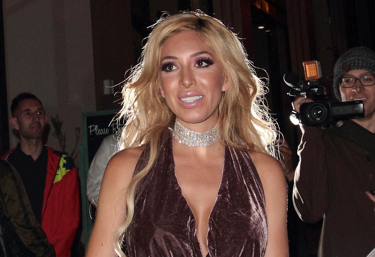 video farrah abraham pregnant rumors boyfriend simon saran
