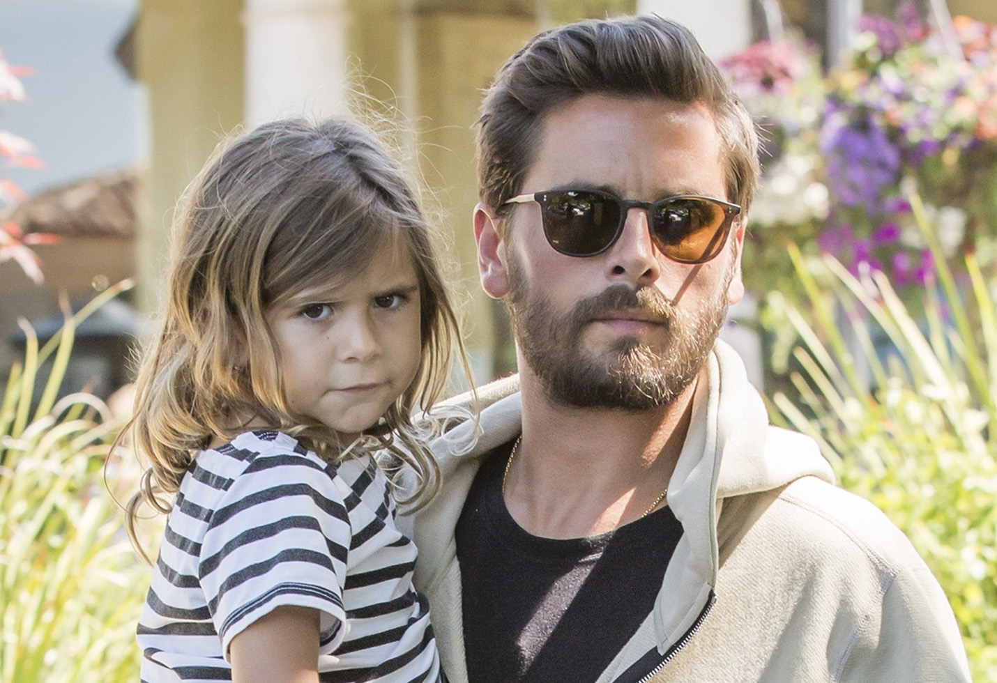 *EXCLUSIVE* Daddy's Girl! Scott Disick takes Penelope out for a sushi date