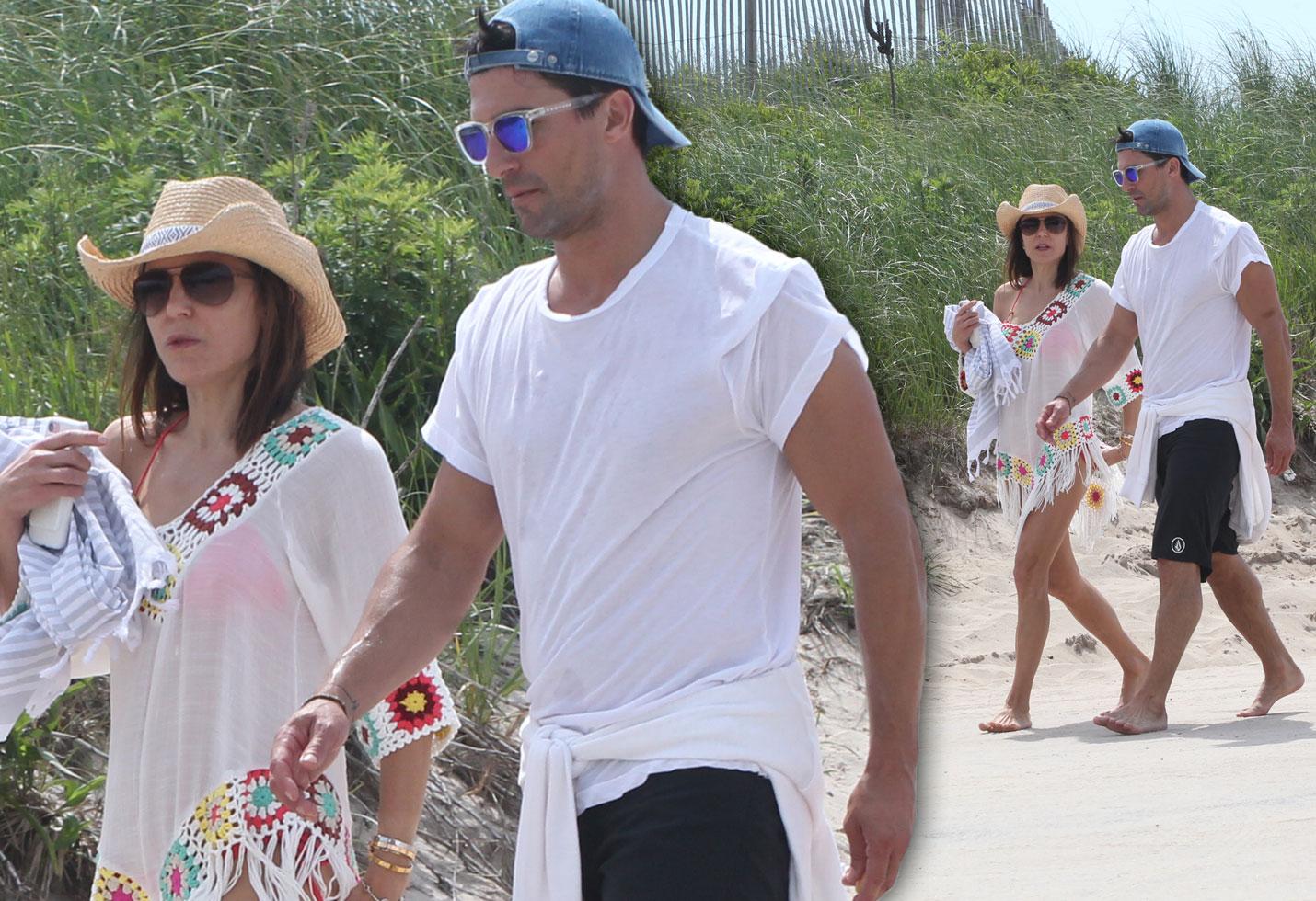 Bethenny Frankel New Boyfriend Beach Pics
