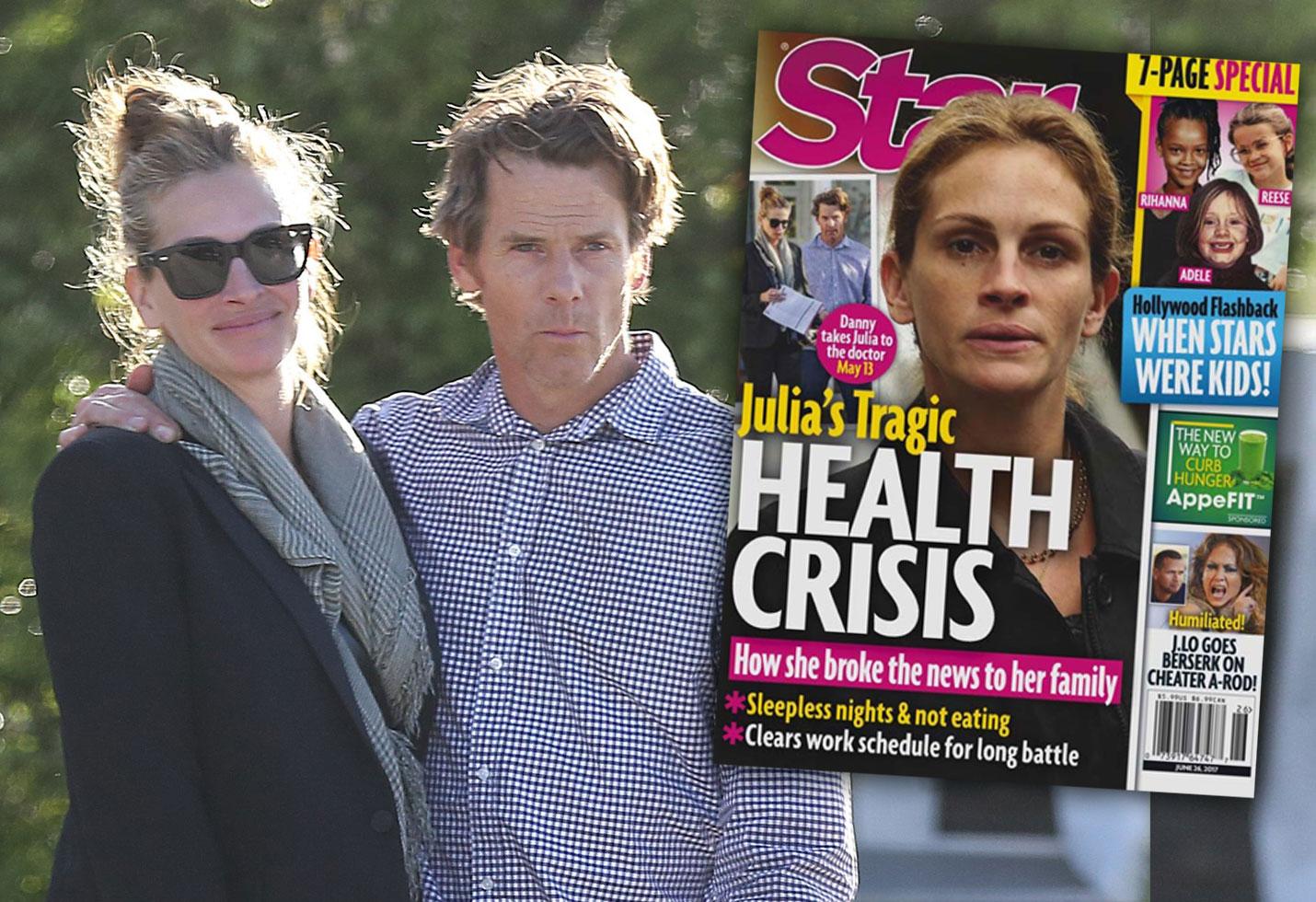 Julia Roberts Health Crisis Doctor