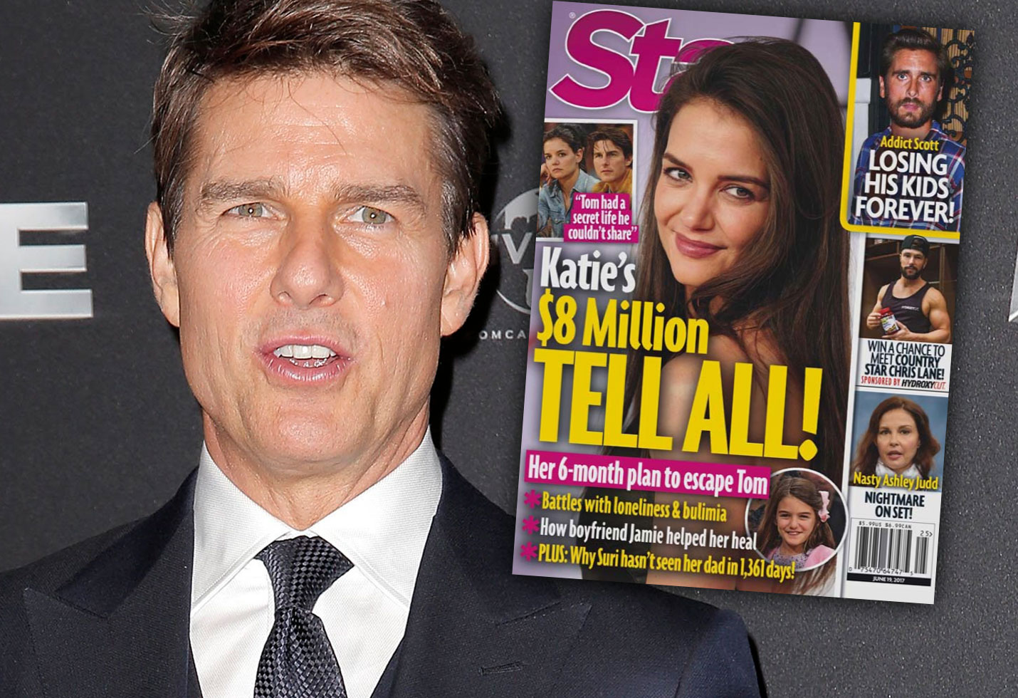 Katie Holmes Tell All Book Tom Cruise