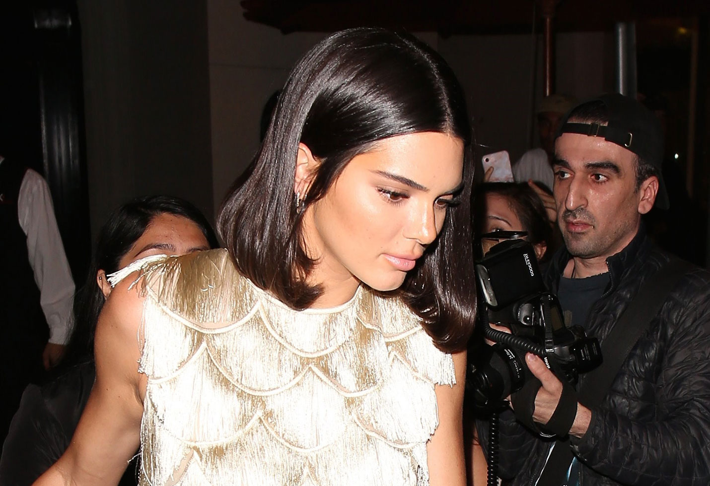 Kendall jenner bares breasts naked racy photoshoot