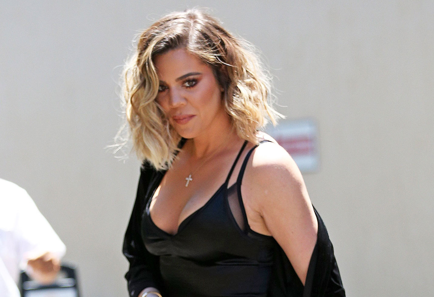 Khloe kardashian naked boobs out sheer bodysuit