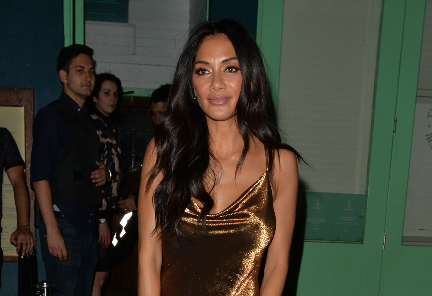 Nicole scherzinger braless parties birthday