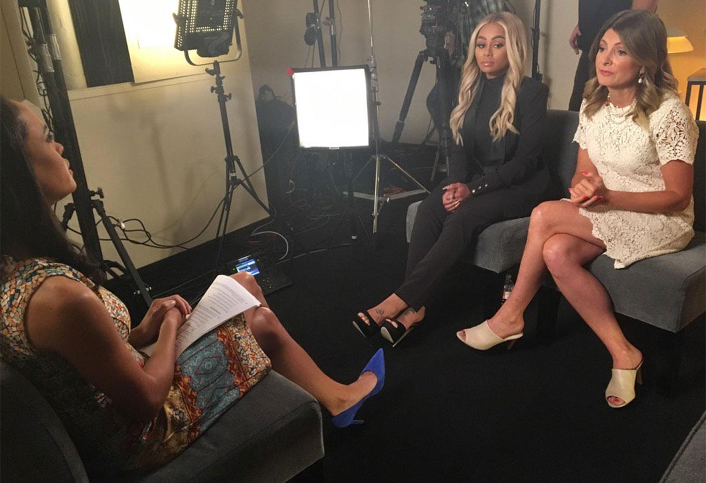 Blac chyna gma interview rob kardashian revenge porn