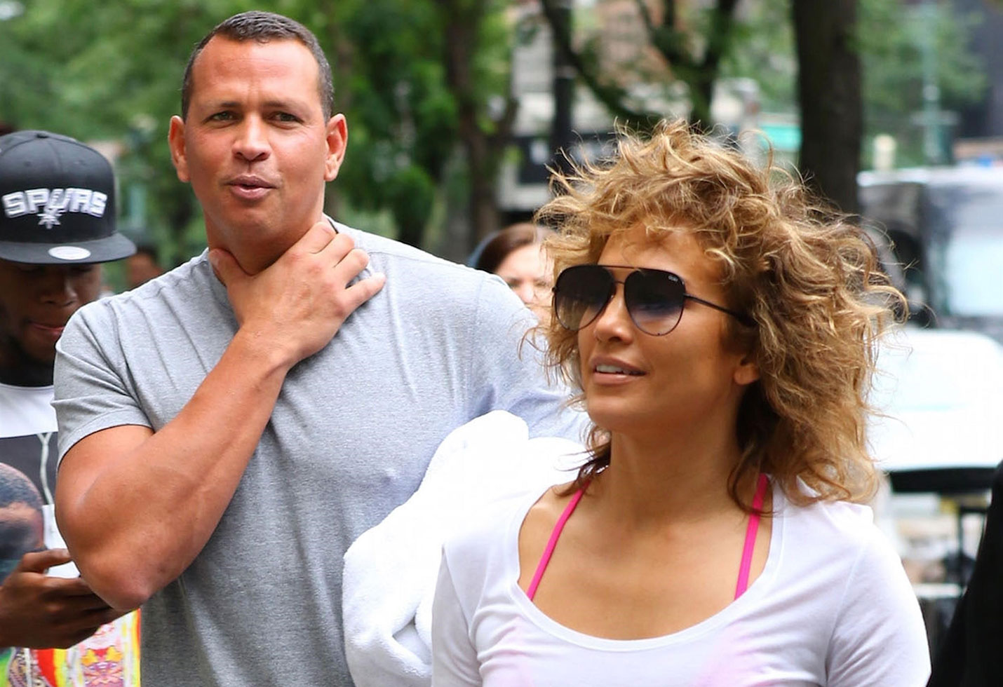 Jennifer lopez nipples out spandex camel toe